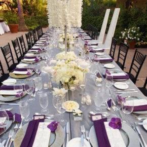 свадьба в фиолетовом цвете фото 060