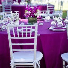 свадьба в фиолетовом цвете фото 061