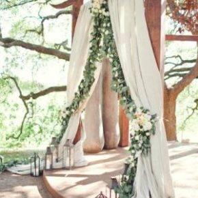 свадьба в стиле рустик арка фото 006
