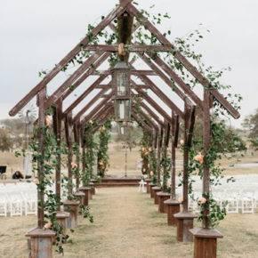 свадьба в стиле рустик арка фото 011