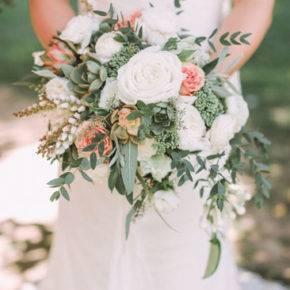 свадебный букет в стиле рустик фото 015