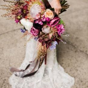 свадебный букет в стиле рустик фото 017