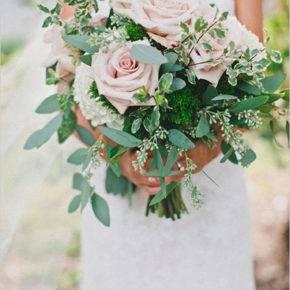 свадебный букет в стиле рустик фото 019