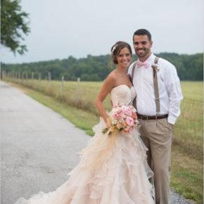 свадебное платье в стиле рустик фото 034