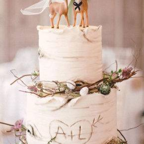 свадебный торт в стиле рустик фото 047
