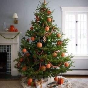 как красиво украсить елку фото 038