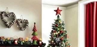 новогоднее украшение дома фото 007