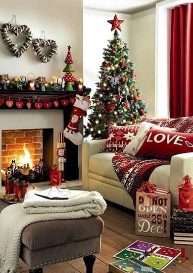 Как украсить дом к Новому году ✱ 55 идей новогоднего декора дома