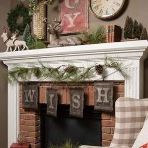 новогоднее украшение дома фото 008