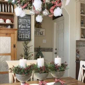 украшение дома к новому году фото 015