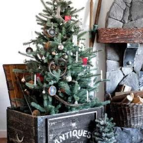 как украсить дом на новый год фото 027