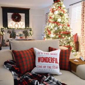 как украсить дом на новый год фото 029