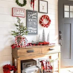 как украсить дом к новому году фото 031