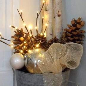 как украсить дом на новый год своими руками фото 040