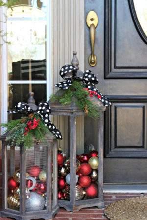 как украсить дом на новый год своими руками фото 0