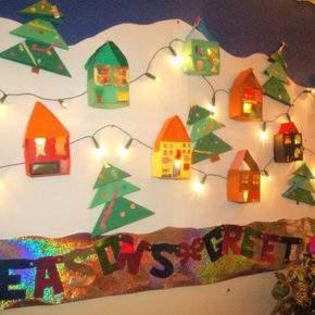 украшение класса на новый год фото 031
