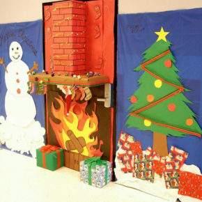 как украсить класс на новый год фото 063