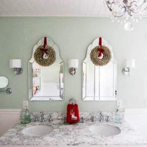 новогоднее украшение квартиры фото 010