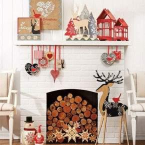 новогоднее украшение квартиры фото 012