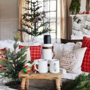 новогоднее украшение квартиры фото 014