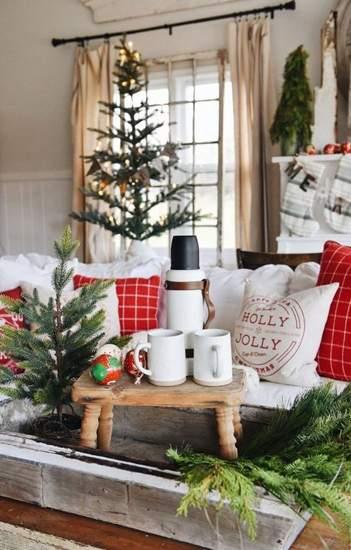 Как украсить квартиру к Новому году ★ 67 идей новогоднего интерьера