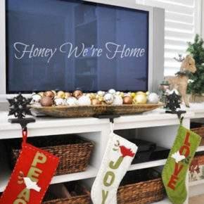 новогоднее украшение квартиры фото 016