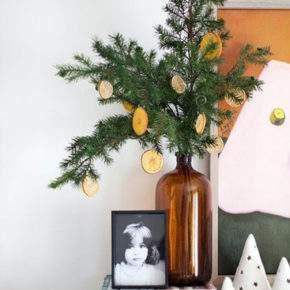 украсить квартиру к новому году своими руками фото 030