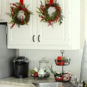 как красиво украсить квартиру на новый год фото 039