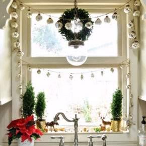 как красиво украсить квартиру на новый год фото 042