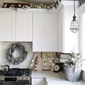как красиво украсить квартиру на новый год фото 049