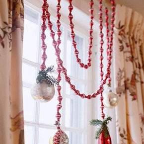 как украсить окно на новый год фото 25