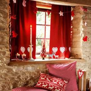как украсить окно на новый год фото 26