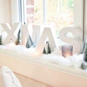 как украсить окно на новый год фото 34