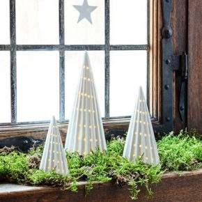 как украсить окно на новый год фото 36