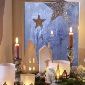 как украсить окно на новый год фото 41