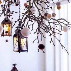 как украсить потолок на новый год фото 46