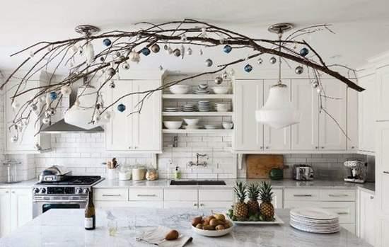 как украсить потолок на новый год фото 47