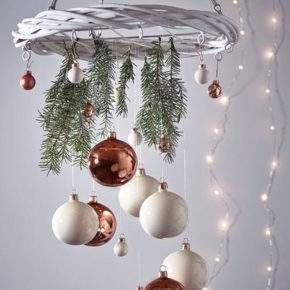 как украсить потолок на новый год фото 53