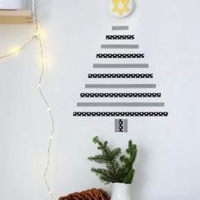 как украсить стену на новый год фото 67