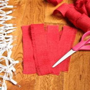 новогодние гирлянды своими руками фото 25