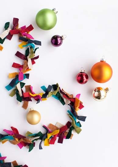 как сделать новогоднюю гирлянду фото 34