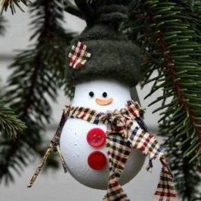 новогодние игрушки из лампочек фото 019