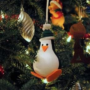 новогодние игрушки из лампочек фото 024