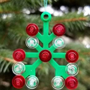 поделка новогодняя игрушка фото 032