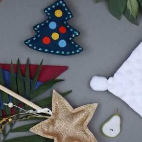 новогодние игрушки своими руками из ткани фото 043