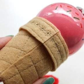 новогодние игрушки своими руками мастер класс фото 096