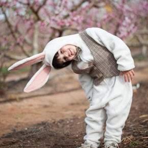 новогодний костюм зайчика фото 009