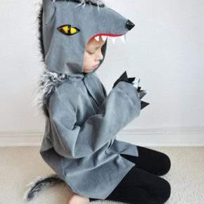 новогодний костюм волка фото 022