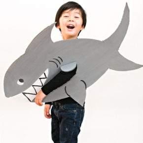 костюм для мальчика на новый год акула фото 092