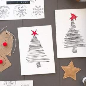 открытки с новым годом своими руками фото 004